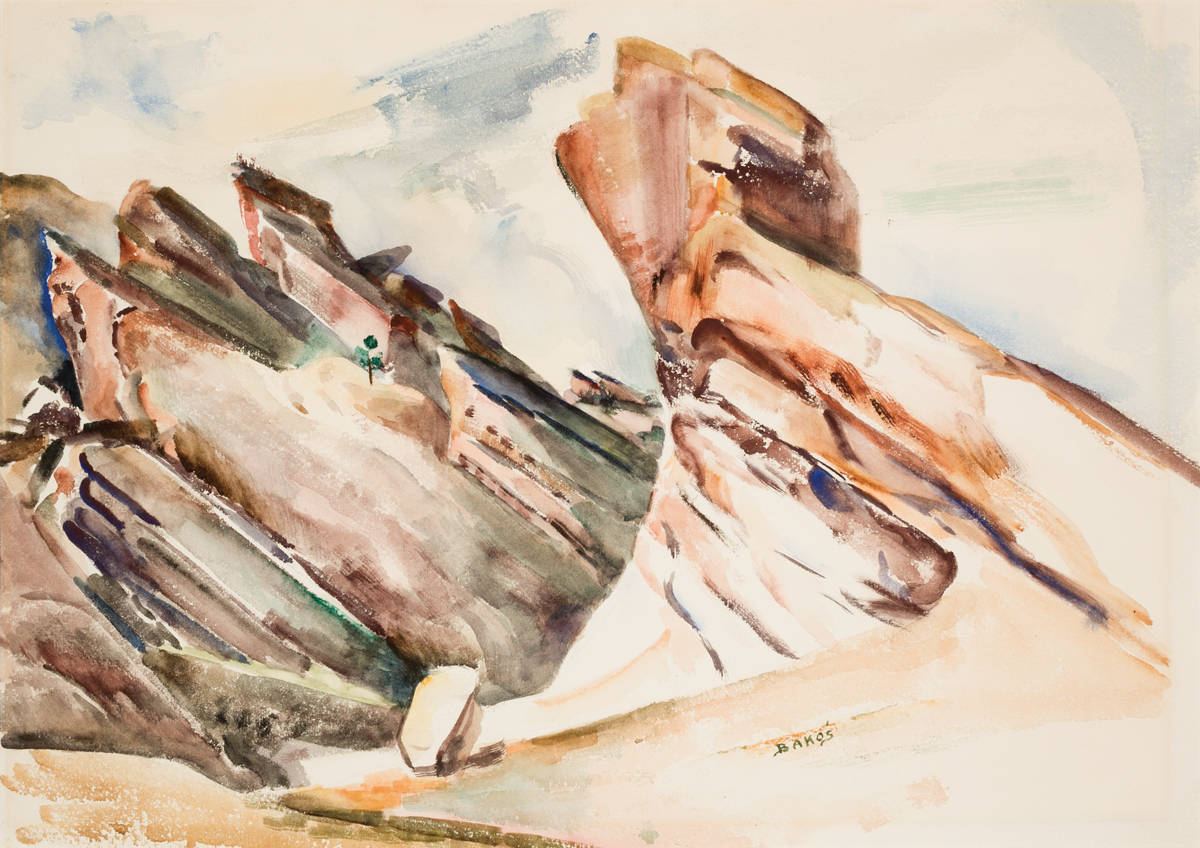 Untitled (Fountain Formation at Red Rocks)