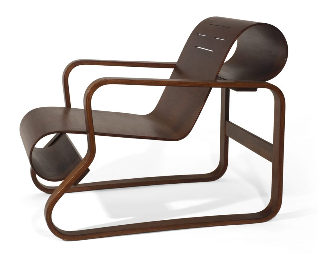 Paimio Lounge Chair (Model 41) designed by Alvar Aalto (1930-1931)