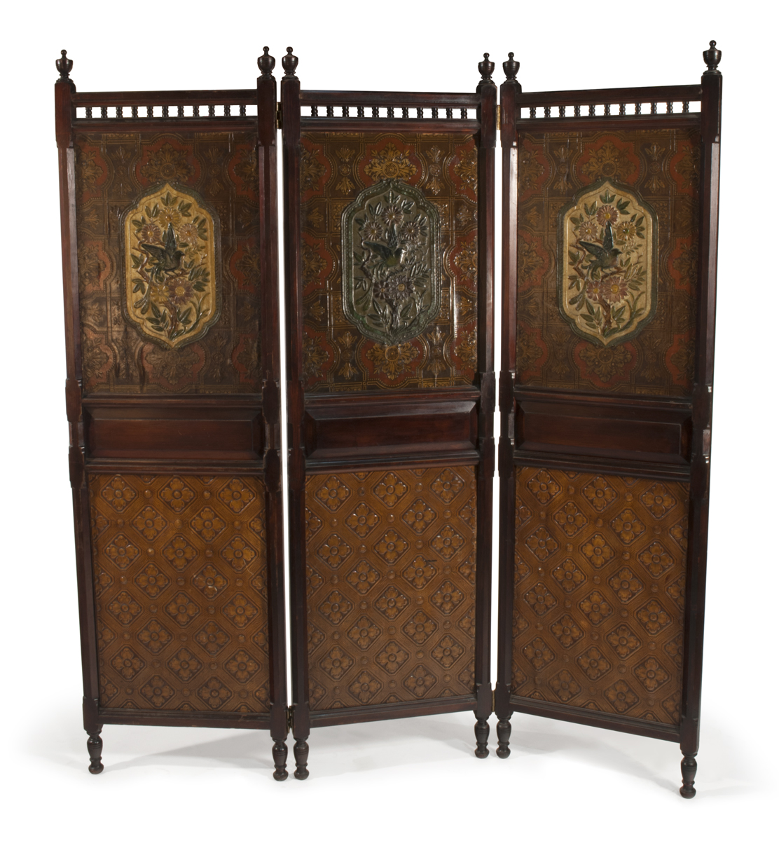 Three Panel Screen