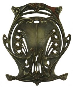 Baluster Shield from the Paris Métro