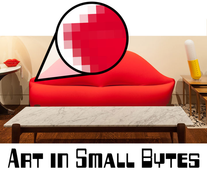 Logo for Art in Small Bytes